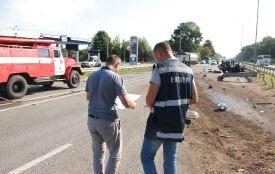 Громадянина Туреччини, причетного до смертельної ДТП на трасі Київ - Чоп, затримано