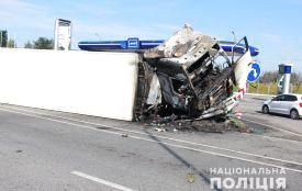 Водія вантажівки-учасниці ДТП, в якій загинуло двоє людей, затримано