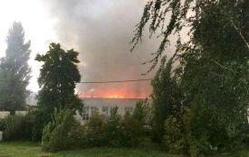Слідами резонансної пожежі на картонному комбінаті: думка рятувальників