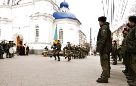 Нацгвардійці у Житомирі склали присягу на вірність українському народові