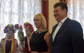 На початку 26-ї сесії обласної ради відзначили державними нагородами жителів Житомирщини