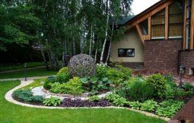 Ідеї і поради для створення затишного двору біля приватного будинку