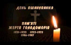 До Дня пам'яті жертв Голодомору в Житомирі відбудеться мітинг-реквієм