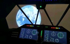 """Зореліт у музеї космонавтики отримав ім'я """"Еней"""""""