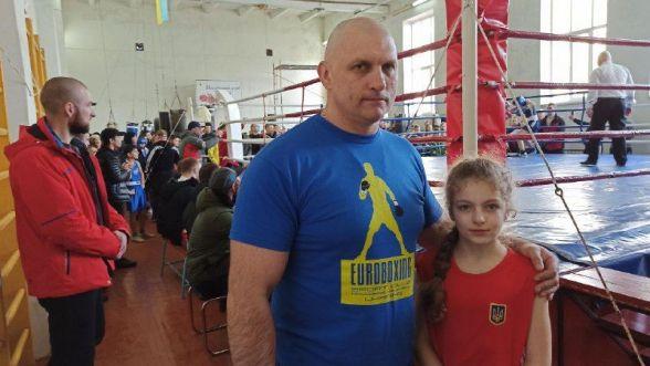 Леонід Плисак з вихованкою (Новоград-Волинський)